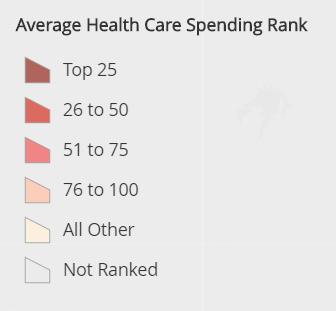 Health Care Spending In Dallas Texas